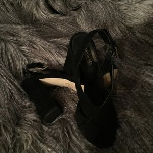 Michael Kors Black Suede..Never Worn